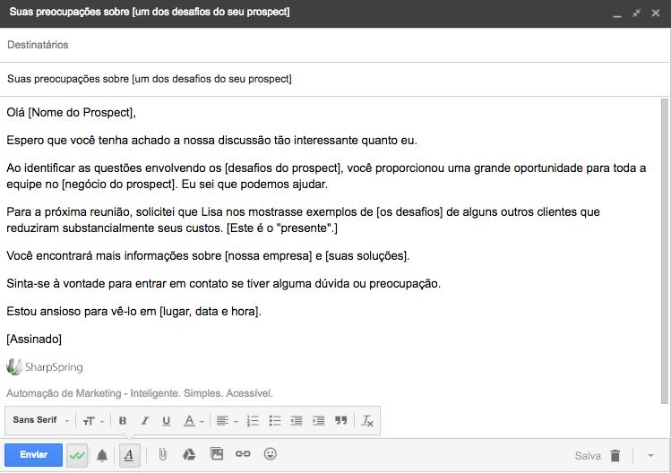 e-mail de vendas 1
