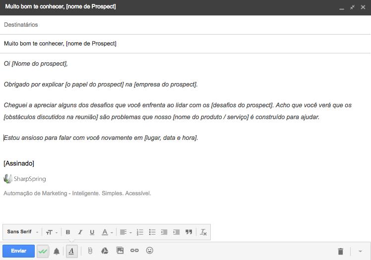 email de vendas 2
