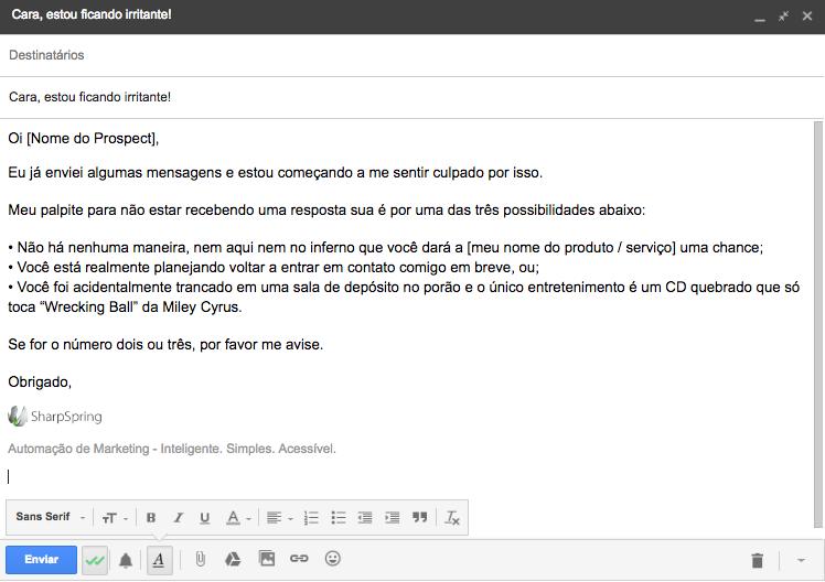email de vendas 4